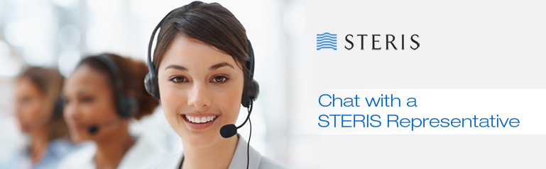 Chat with a STERIS Representative