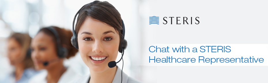 Chat with a STERIS HealthcareRepresentative