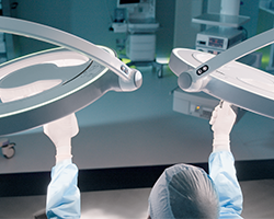 LED lights are the new standard for operating room lighting