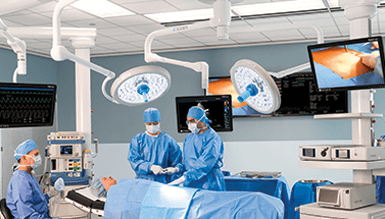STERIS Operating Room Integration Systems deliver the highest level of patient care. Systems are compatible with any image from any piece of equipment.