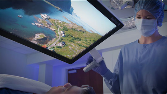 HexaVue OR Integration System for the OR of the future