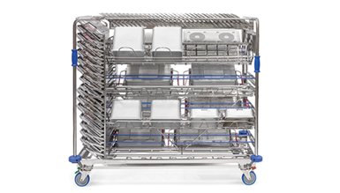 cart washer racks