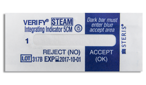 The VERIFY Steam Integrator is correlated to biological indicator kill and provides immediate knowledge of sterilization failures.