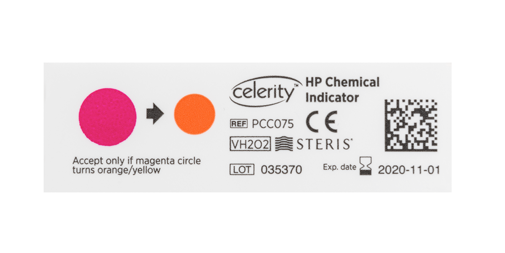 Celerity HP Chemical Indicator