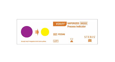 Unprocessed VERIFY Vaporized Chemical Indicator
