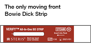 The Only Moving Front Bowie-Dick Strip