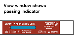 View Window Shows Passing Indicator