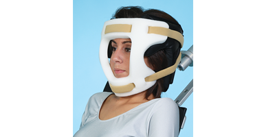 Disposable Head and Chin Restraint Straps for Shoulder Chair
