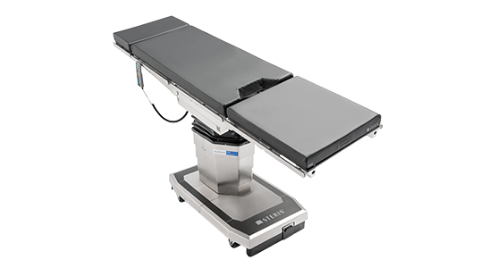 18 inch slide to create superior imaging access for cardiothoracic procedures