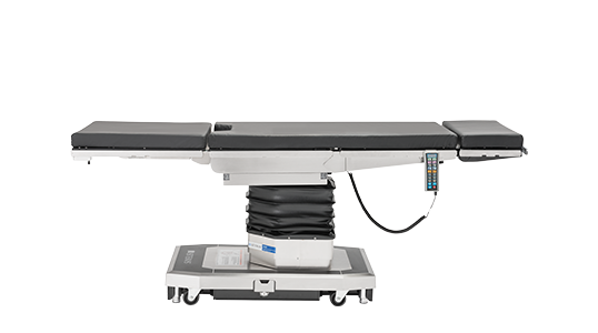 The 5095 Table offers low height to achieve proper patient positioning for bariatric surgery