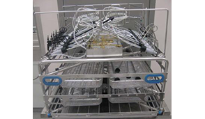Three Level Vision Manifold Rack with Removable MIS Upper Insert