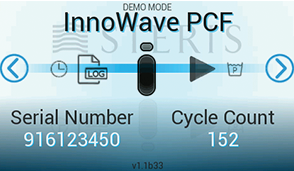 InnoWave PCF Demo Mode