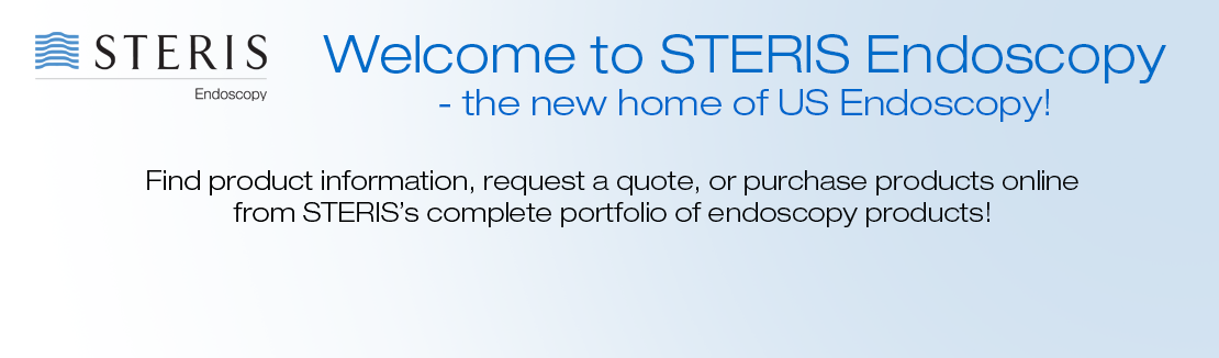 Welcome to STERIS Endoscopy - the new home of US Endoscopy!