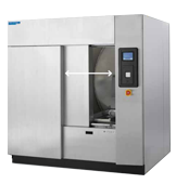 AMSCO 400 Series Medium Sterilizer with Automated Horizontal Sliding Door