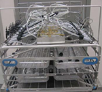 Three Level Manifold Rack  (increased height) Removable MIS Upper Level