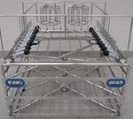 Three Level Manifold Rack with Removable MIS Upper Insert