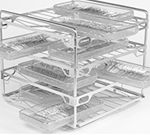 Four level Vision manifold rack